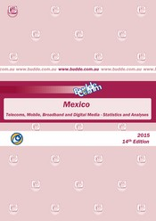 Mexico - Telecoms, Mobile, Broadband and Digital Media - Statistics and Analyses